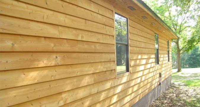 Как отремонтировать потрескавшийся деревянный сайдинг