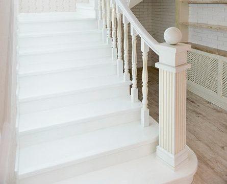 Как побелить деревянные лестницы