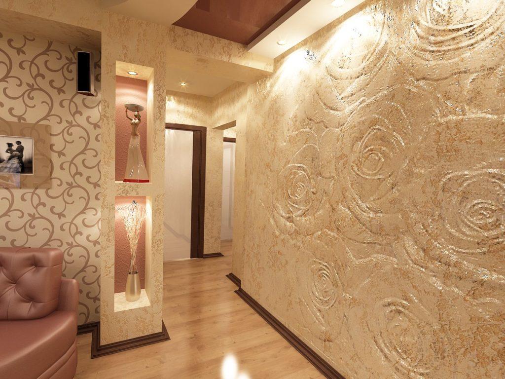 Внутренняя отделка стен в квартире