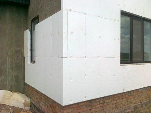 утеплить фасад дома